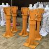 2吨折叠臂吊运机 车载移动式折叠小吊车手动液压发动机
