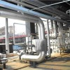 泵房管道岩棉管保温安装彩钢板罐体保温施工工程