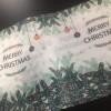 现货批发 圣诞水刺布 口罩布 来图可定制